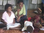 PSA tutor teaching sml children